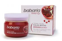 Babaria Aloe Vera & Pomegranate Face Cream for Combination Skin 50ml